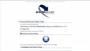 Как правильно качать с Rapidshare.com!